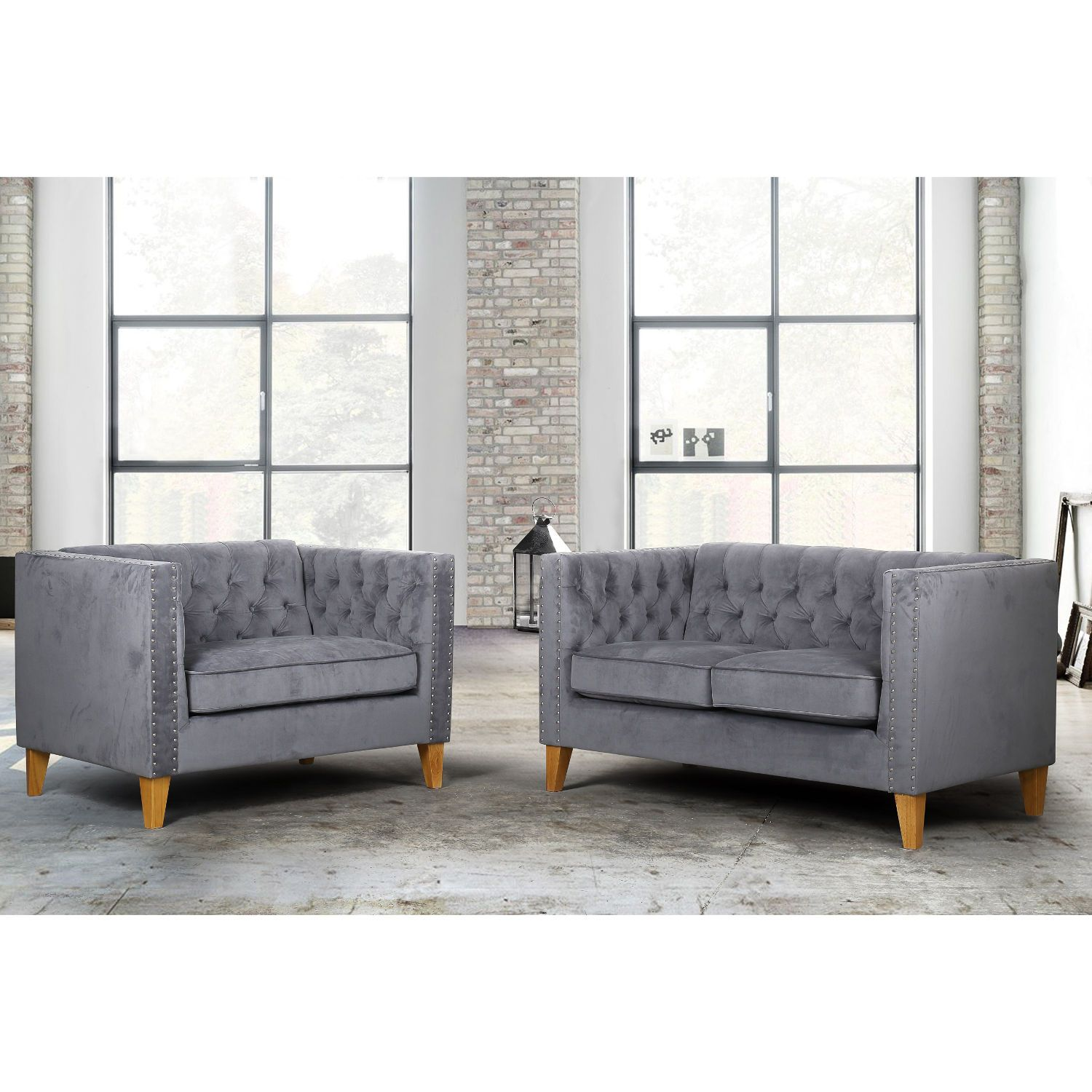Florence Velvet 2 Seater Sofa – Next Day Delivery Florence Velvet 2