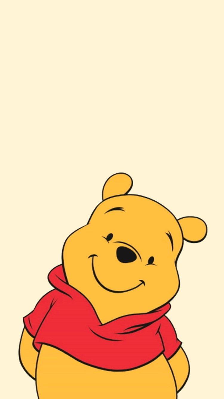 くまのプーさんのかわいい無料高画質iPhone壁紙Winnie the Pooh free HQ iPhone Wallpaper #downloadcutewallpapers