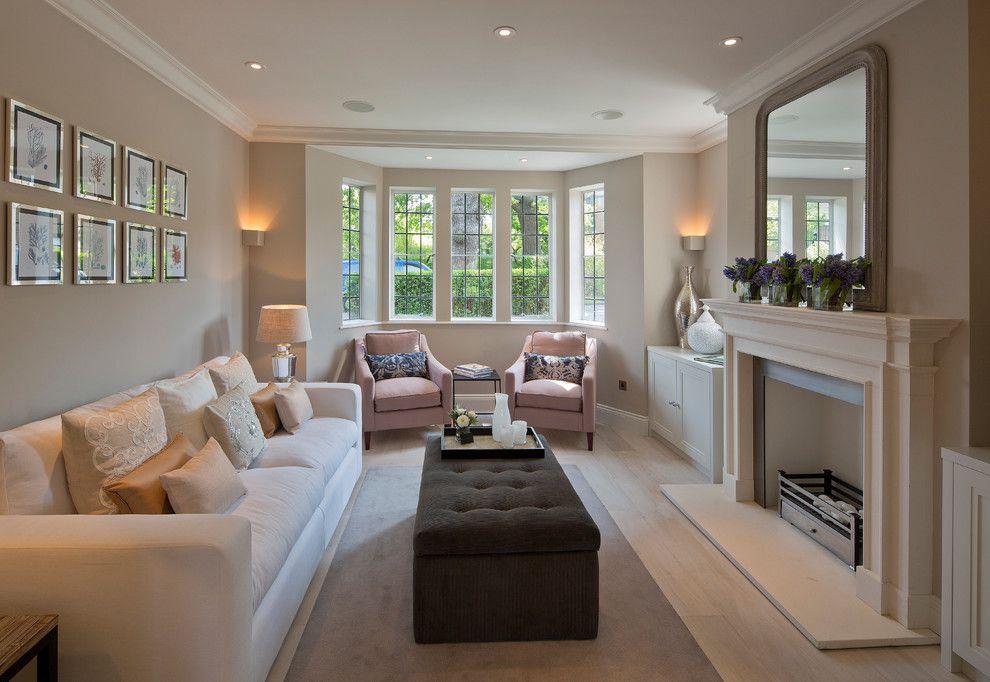 charming rectangular living room layout