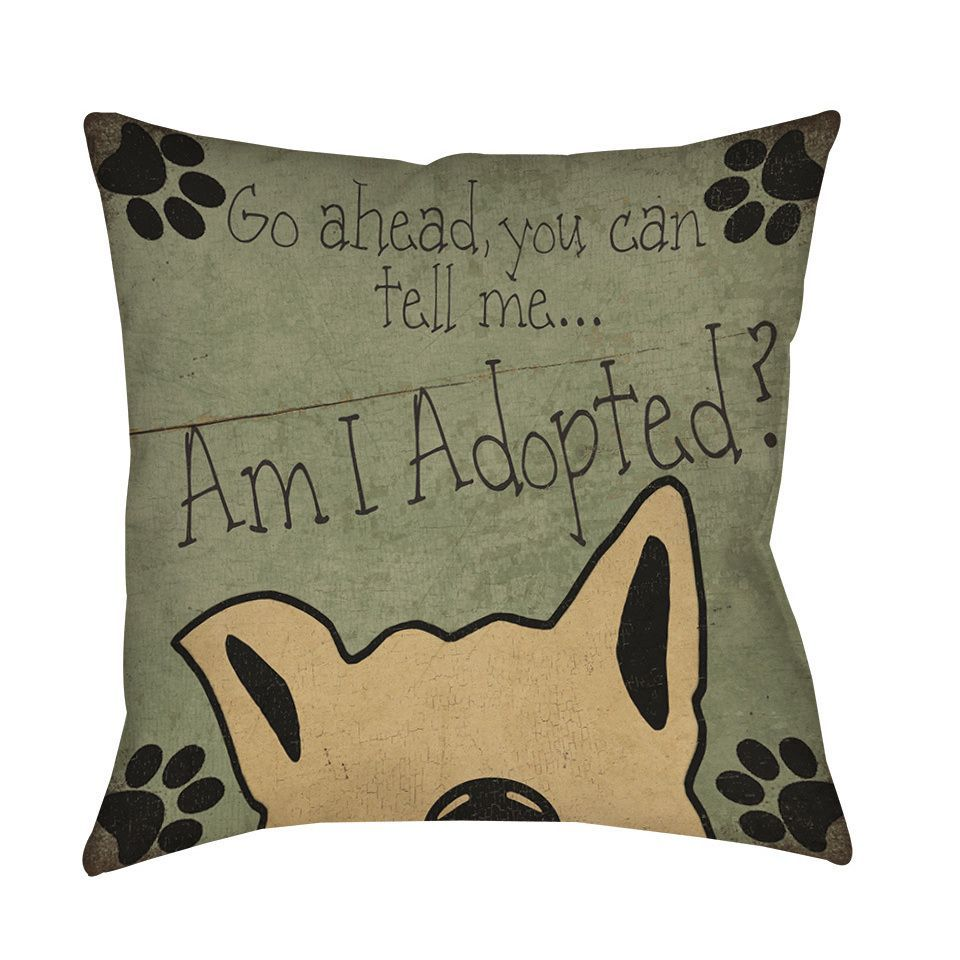Am I Adopted Throw/ Floor Pillow | Floor pillows, Animal and Manx cat