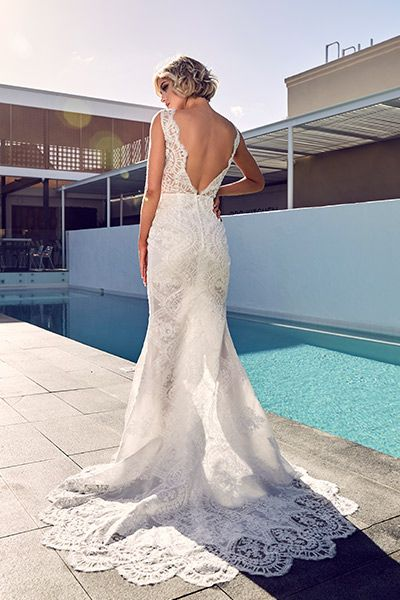 Top 10 Low Back Wedding Dresses - Andalucia by Emanuella | Bridal ...