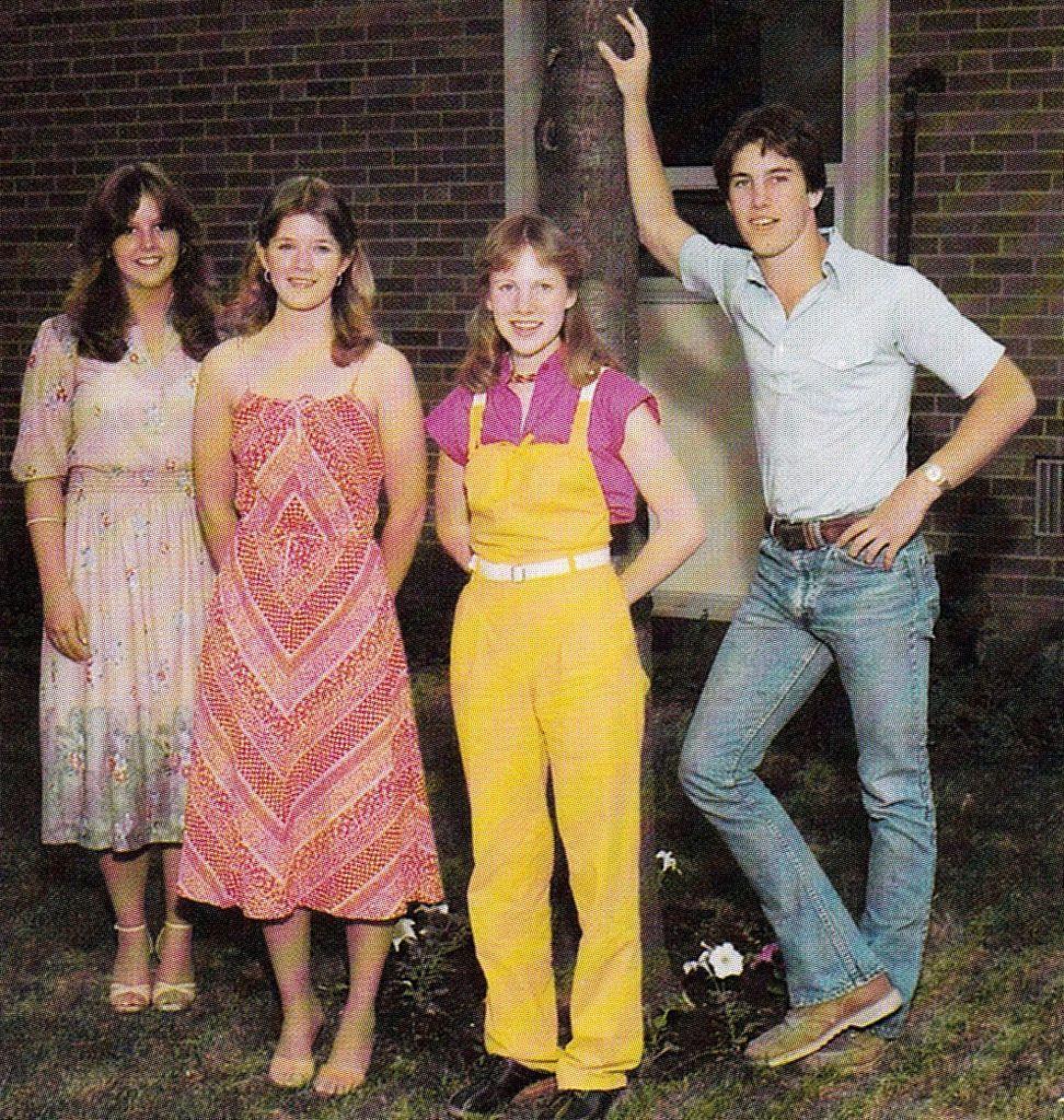1980s high school fashion