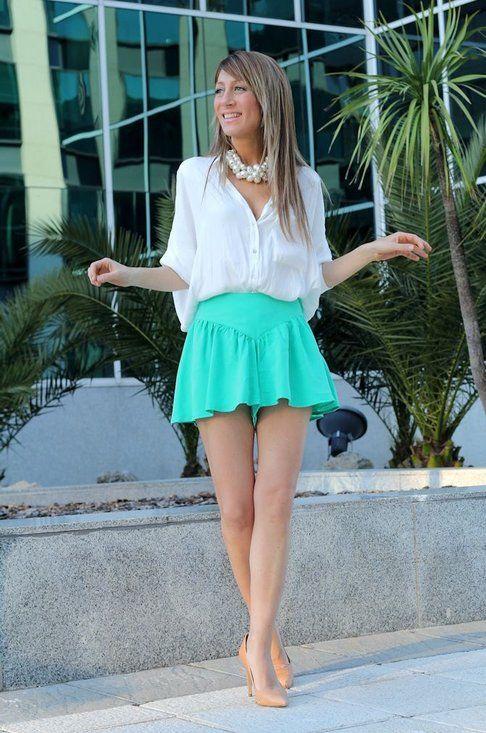 e107401eb falda casual   moda casual
