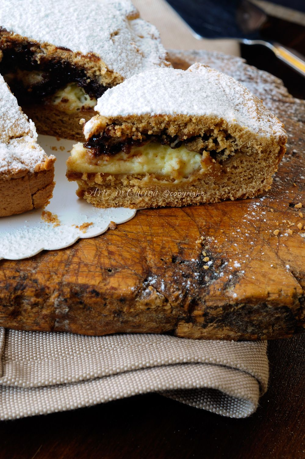 Torta di biscotti ripiena cioccolato e mascarpone al forno for Ricette di torte