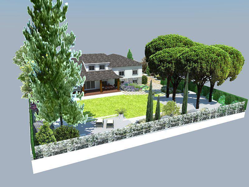 Casas contemporaneo exterior jardin dibujos muebles for Decoracion exterior jardin contemporaneo