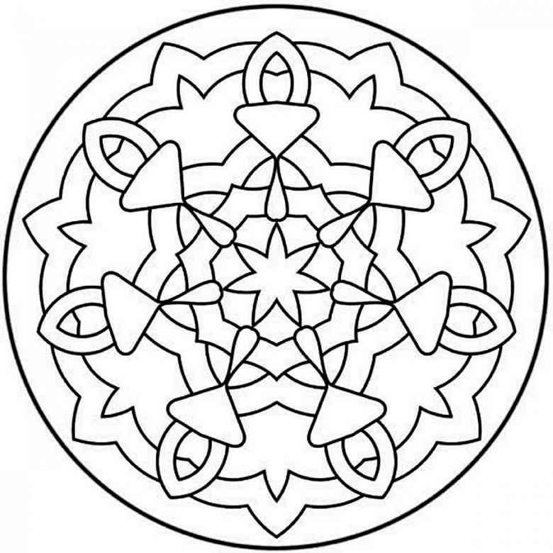 Mandala coloring pages printable for adults coloring pages for kids
