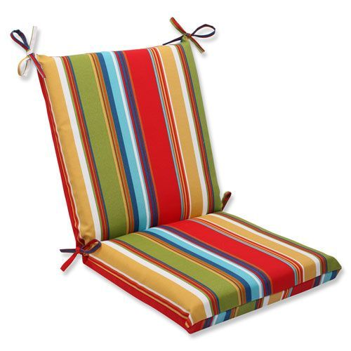 Bullnose High Back Outdoor Chair Cushion Dining Cushions