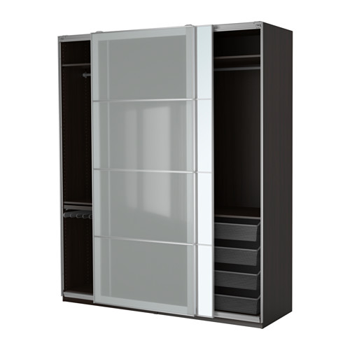 PAX System   Combinations With Doors   IKEA Almost 8 Feet Tall. Perfect For  The Bedroom Idea We Have Been Discussing