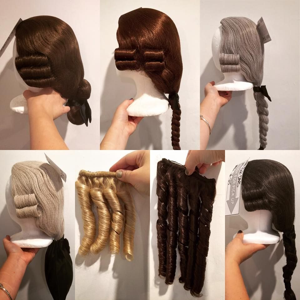 Wigs made for the cast at Colonial Williamsburg  01abe5f25