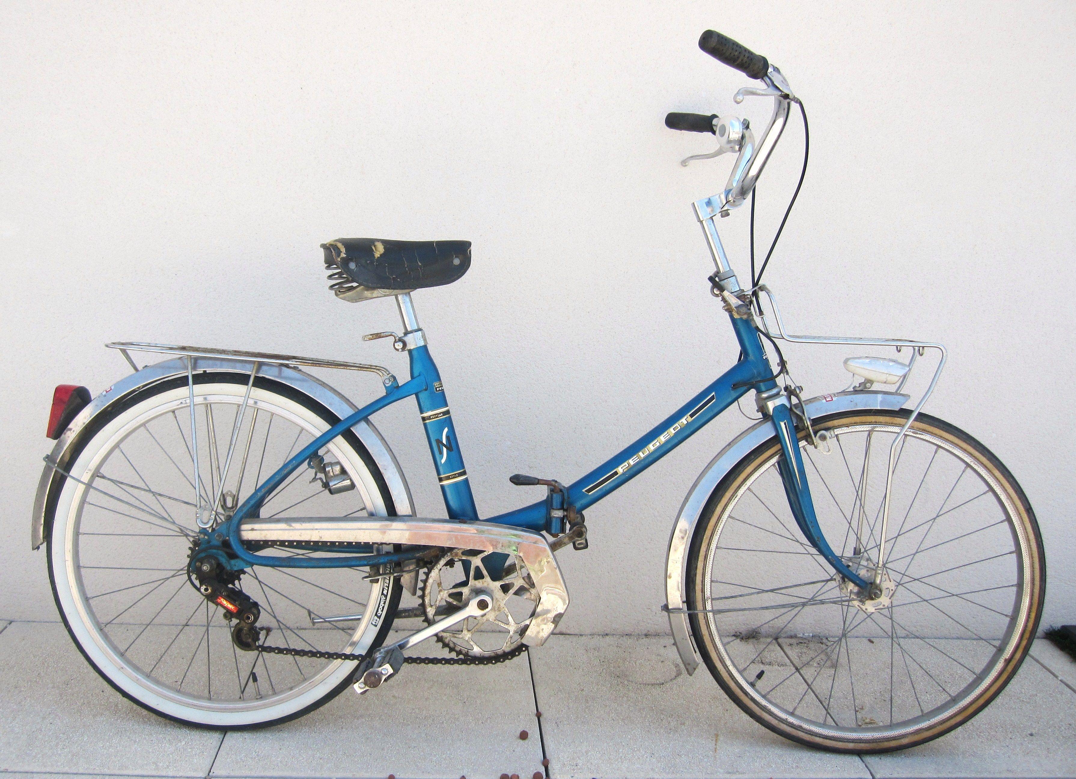 velo pliant vintage bikes t velo pliant. Black Bedroom Furniture Sets. Home Design Ideas