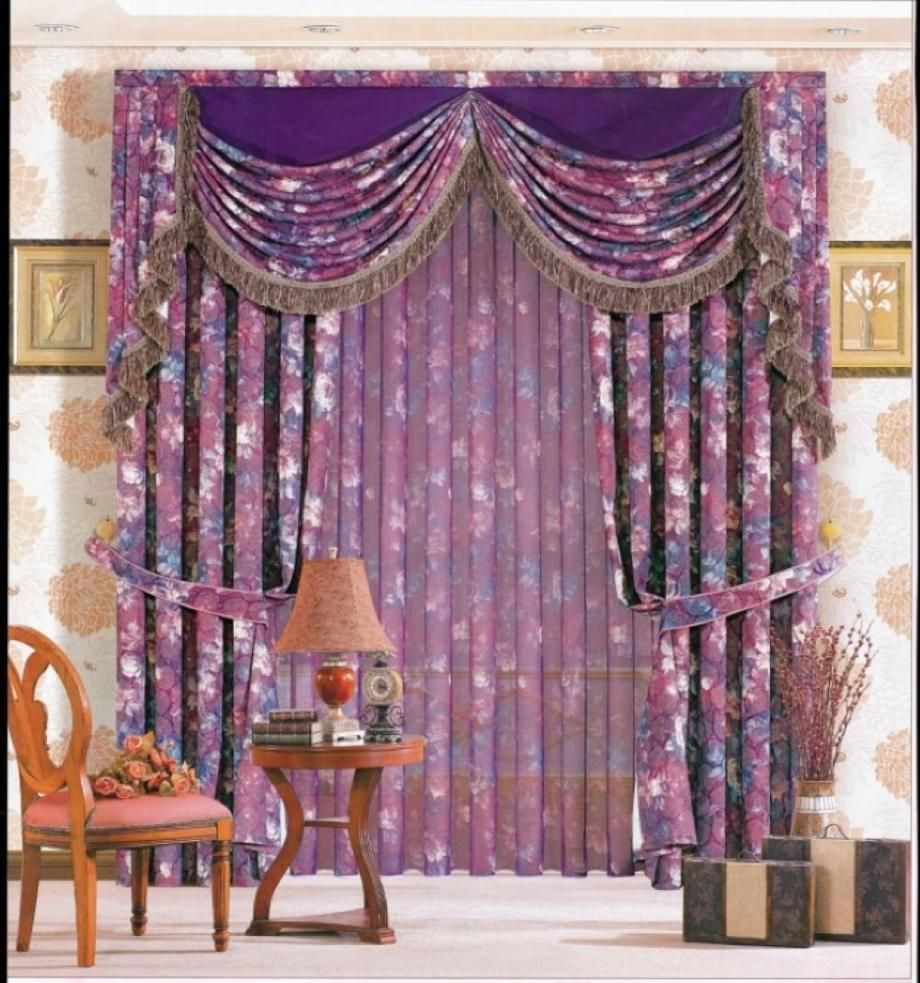 Purple Curtains | Royal Purple Curtains For Living Room