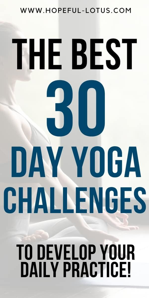If you're looking to advance your yoga practice or get started as a beginner, 30 day yoga challenge