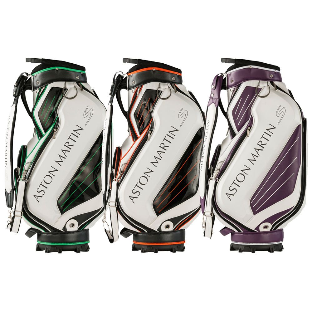 ASTON MARTIN S MENS GOLF STAFF CADDIE BAG