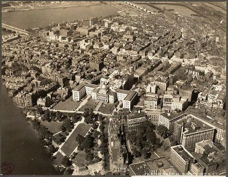 Boston from air: compare 1920s with 2013 | News - WCVB Home