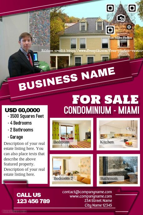 Real Estate Flyer Template  Professional Design HttpWww