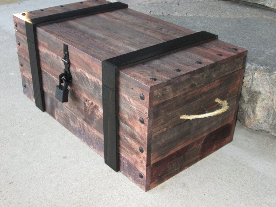 395251 Jpg 900 675 Pirate Chest Diy Chests Diy Pirate Treasure Chest