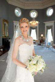 bridal portrait in jefferson room