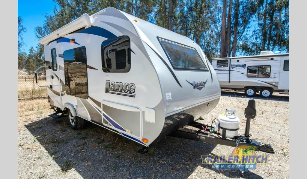 New 2017 Lance Travel Trailers 1475 Trailer At Hitch Rv Nipomo