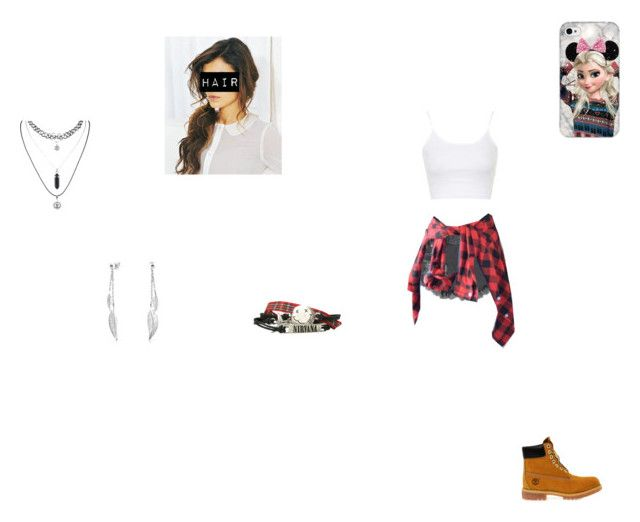 """""""Untitled #51"""" by rockandroll1254 ❤ liked on Polyvore featuring Glamorous, Topshop, Timberland and Bling Jewelry"""