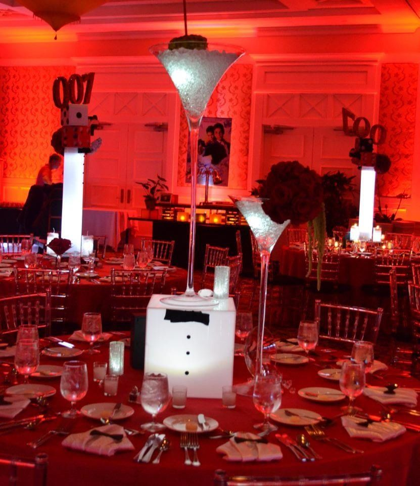 James Bond 007 Theme Bar Mitzvah Event Decor Party Perfect