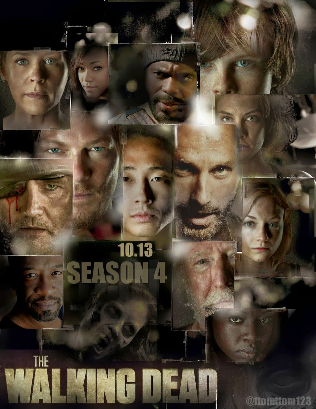 The Walking Dead SEASON 1 POSTERS- | ... FAVIAN DE BARRACAS SERIES ...