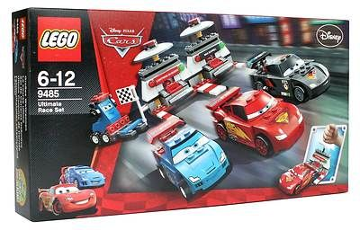 Cars Ultimate Race Set STICKER SHEET LEGO 9485