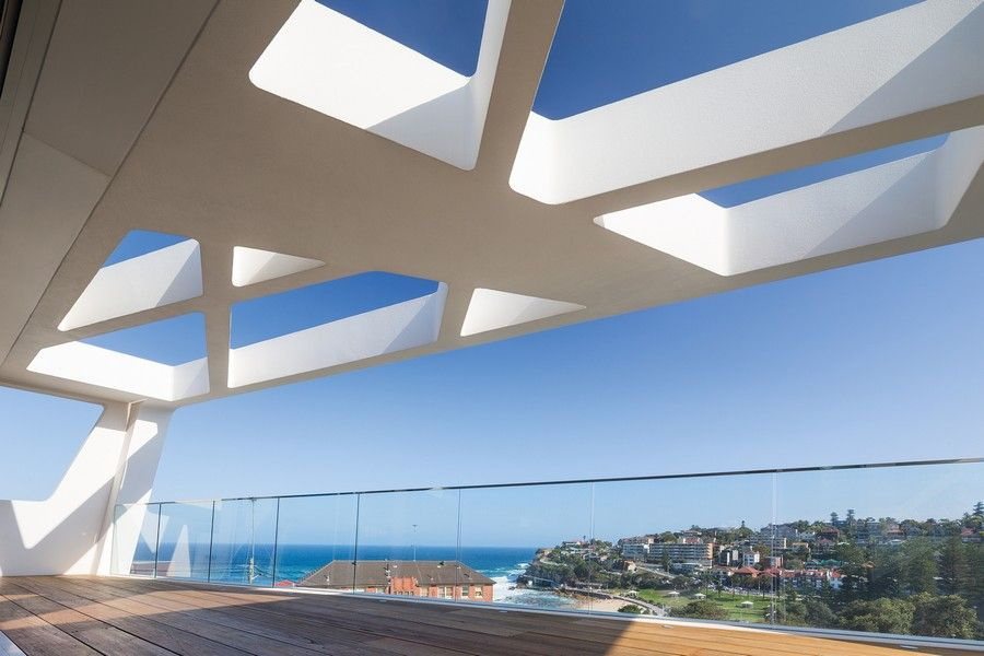 Creative Architecture Part - 18: Astonishing Creative Architecture For An Ultramodern Home : Exciting  Contemporary Exterior Balcony With View Creative Architecture