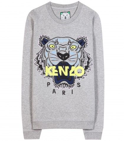 c18507325a1 kenzo - embroidered cotton sweatshirt