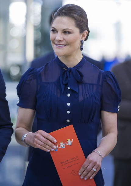 Crown Princess Victoria of Sweden 3/25/15