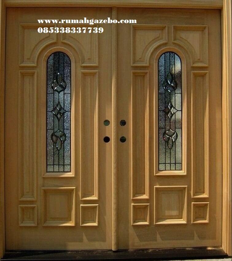 Pintu Kupu Tarung Minimalis Desain Pintu Utama Pintu Minimalis