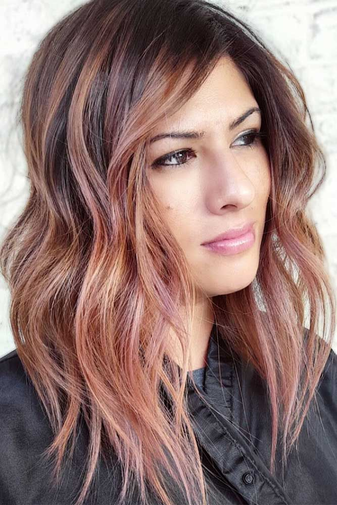 25 Gorgeous Haircuts For Heart Shaped Faces Lovehairstyles Com Hair Styles Gold Ombre Hair Long Hair Styles