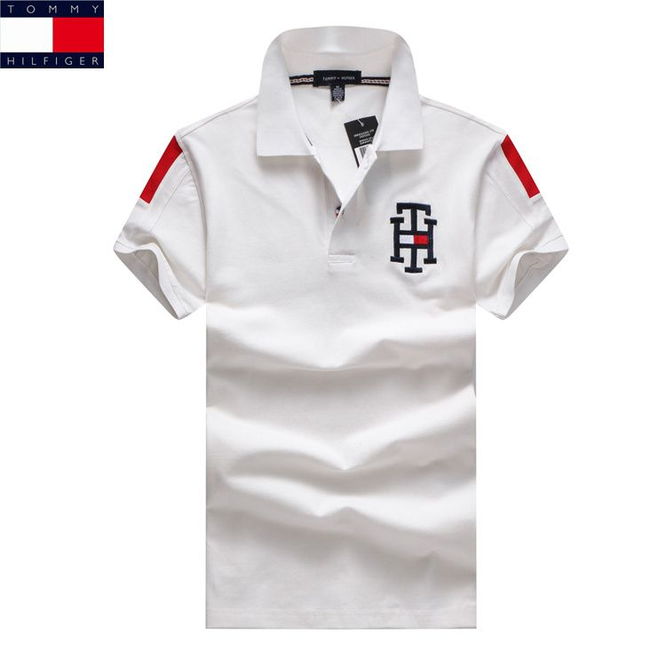 99745351 Tommy Hilfiger Polo Shirts Men Short | polos in 2019 | Tommy ...