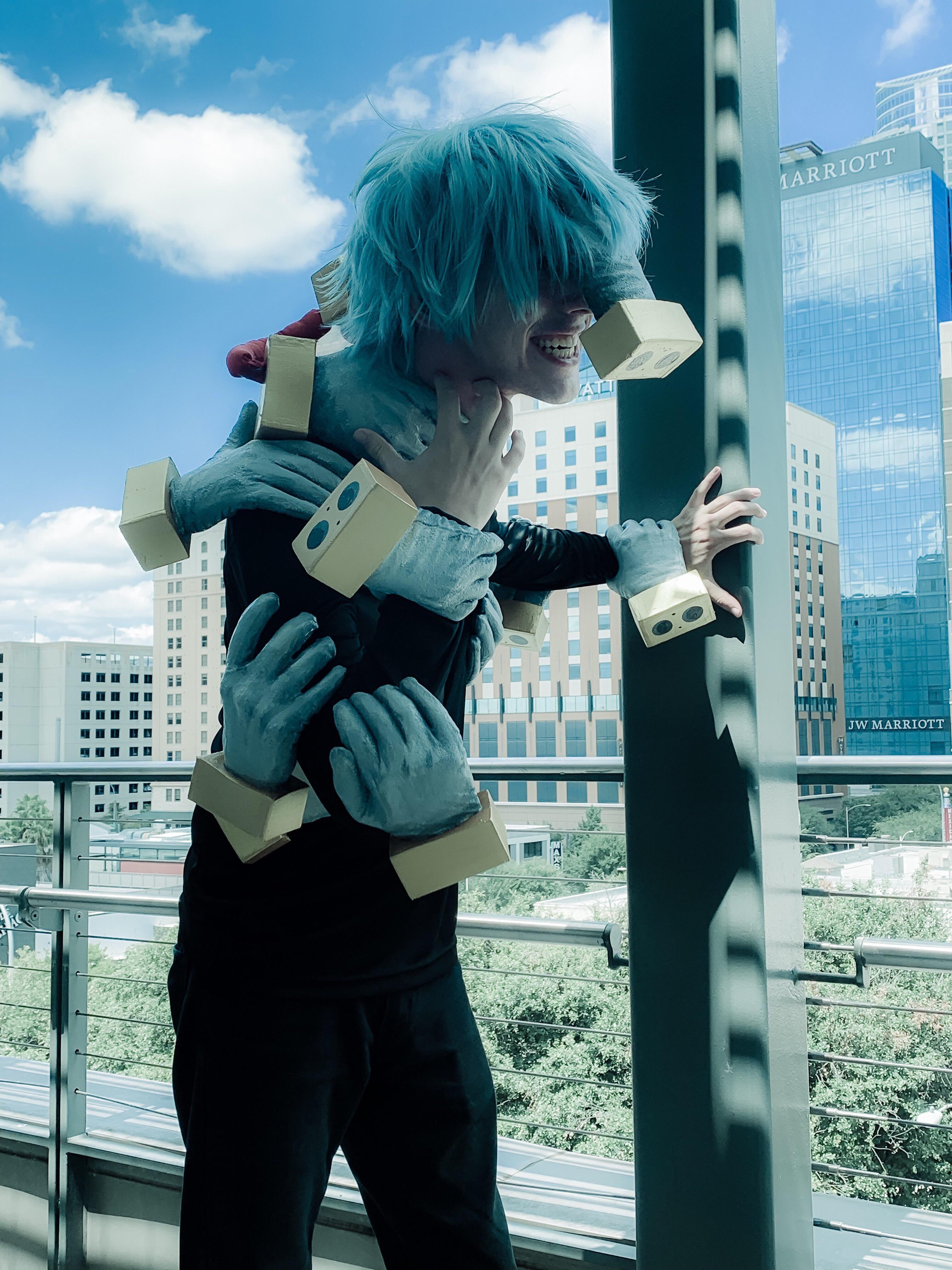 [Self] Shigaraki from My Hero Academia cosplay http//bit