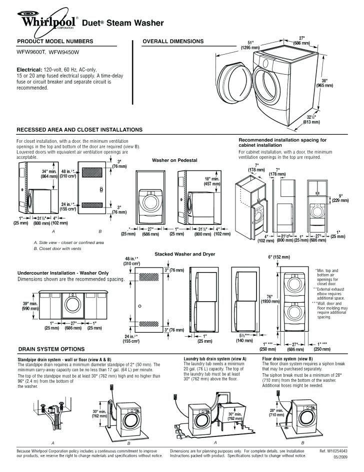 Merveilleux Stackable Washer Dryer Closet .