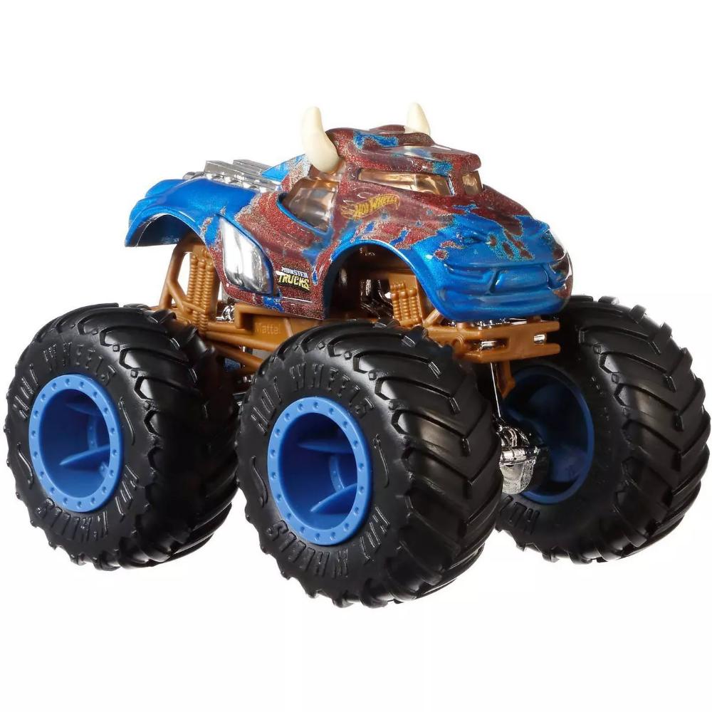 Hot Wheels Monster Trucks 1 64 Critter Crashers 5pk Styles May Vary Monster Trucks Hot Wheels Cool Trucks