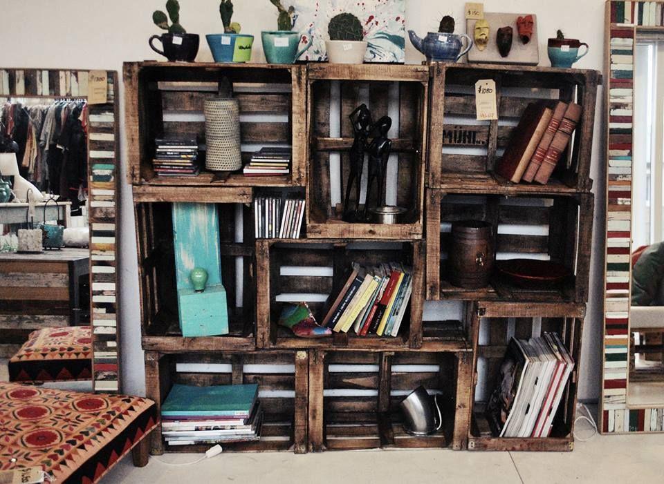 Mueble con cajones de manzana ideas para la casa for Diseno de muebles con cajones de verduras