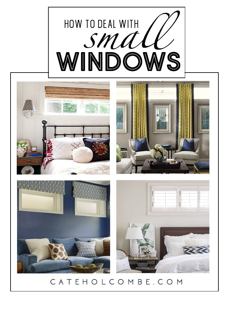 Window Treatments For Small High Windows A Design Dilemma Cate