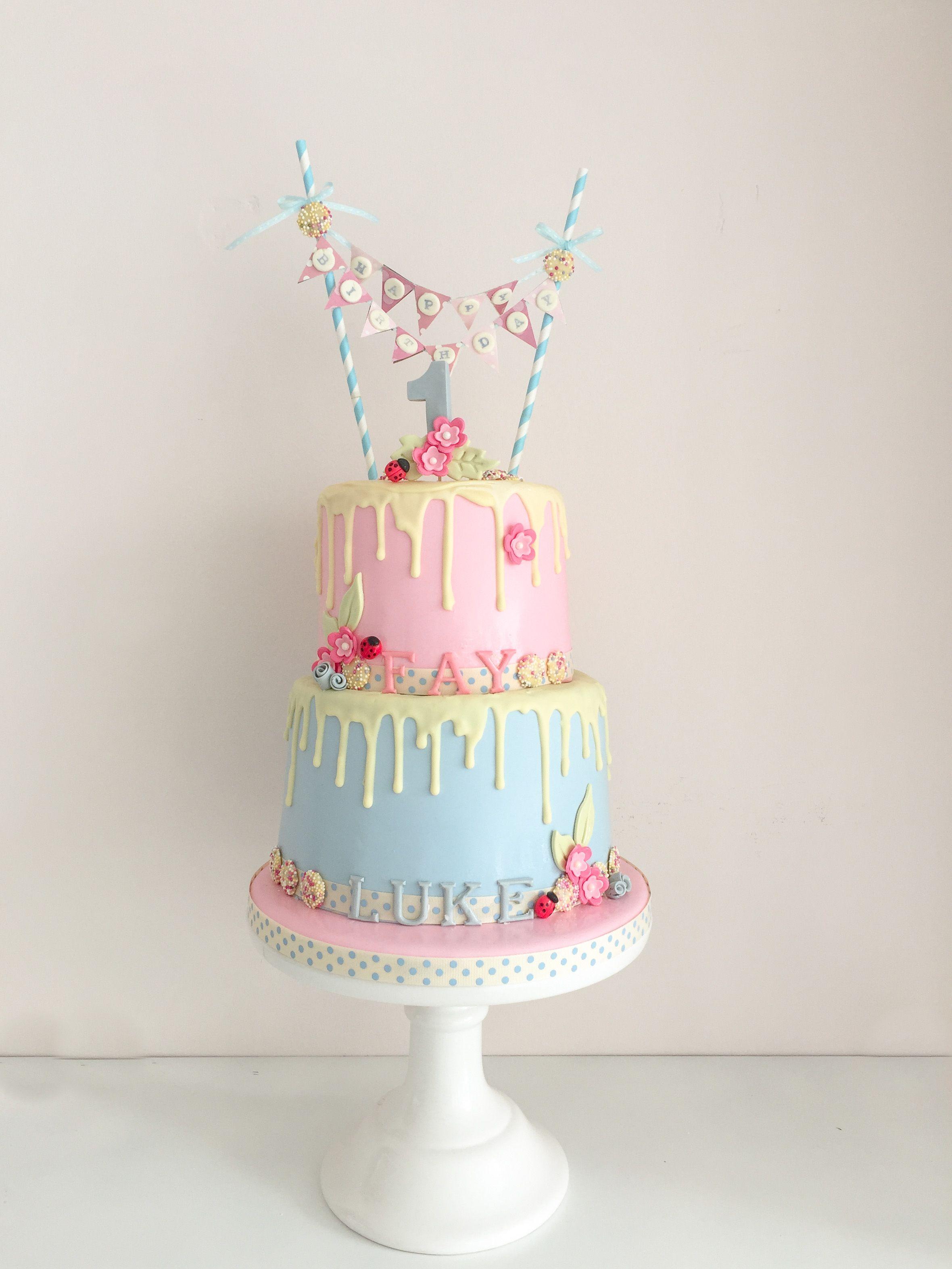 Cute Kids Birthday Cake From Uk Cake Designer Fifi Fondant Fifi