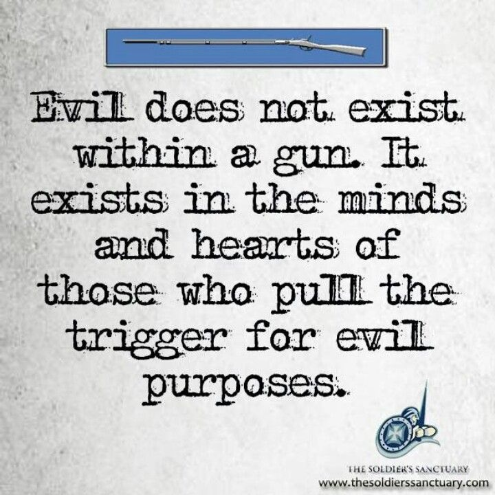 So True  Guns And Truths    Guns Purpose And People