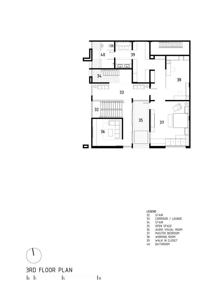 Gallery Of S I House Dp Hs Architects 23 My House Plans My Home Design Architect