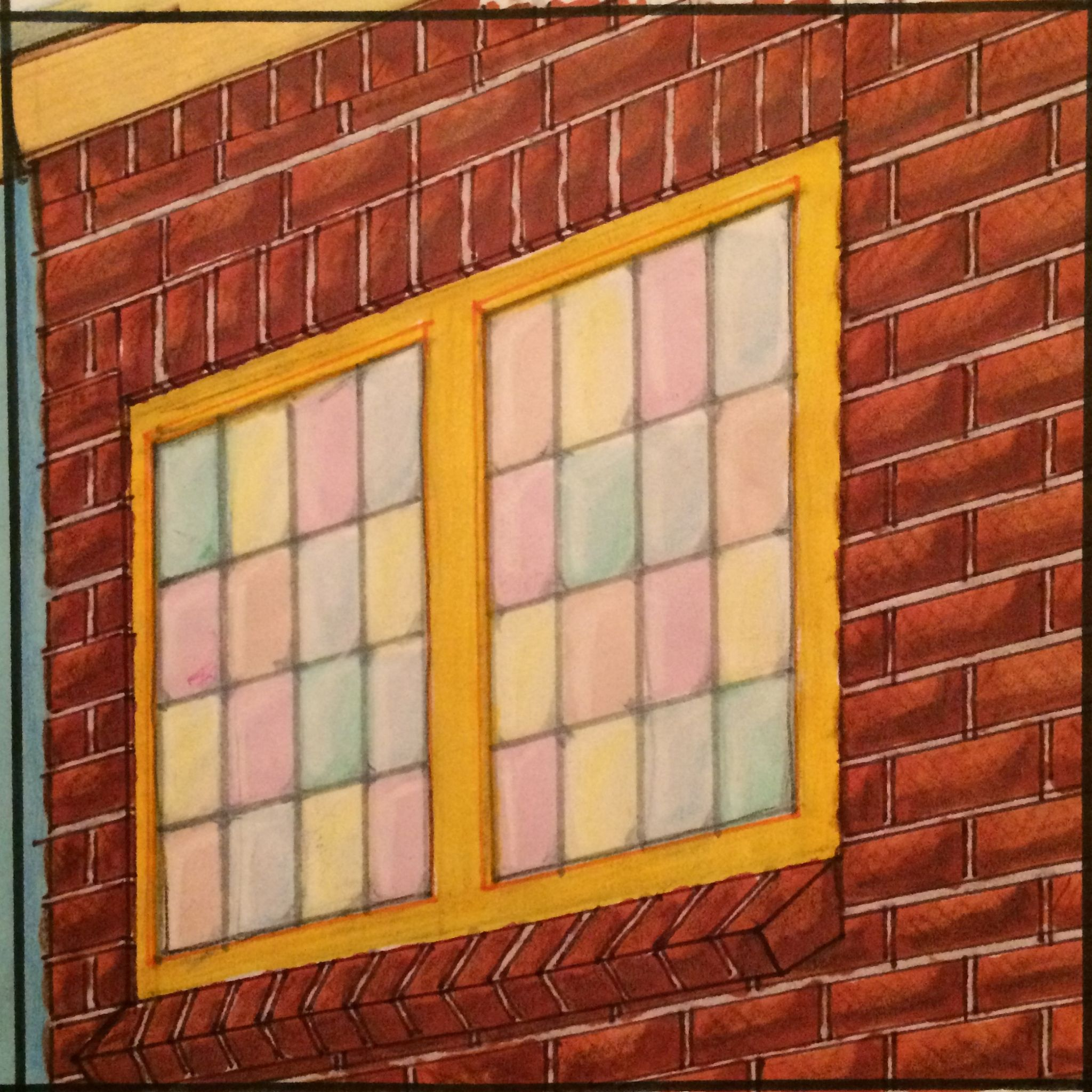 Window / raam   R van raam