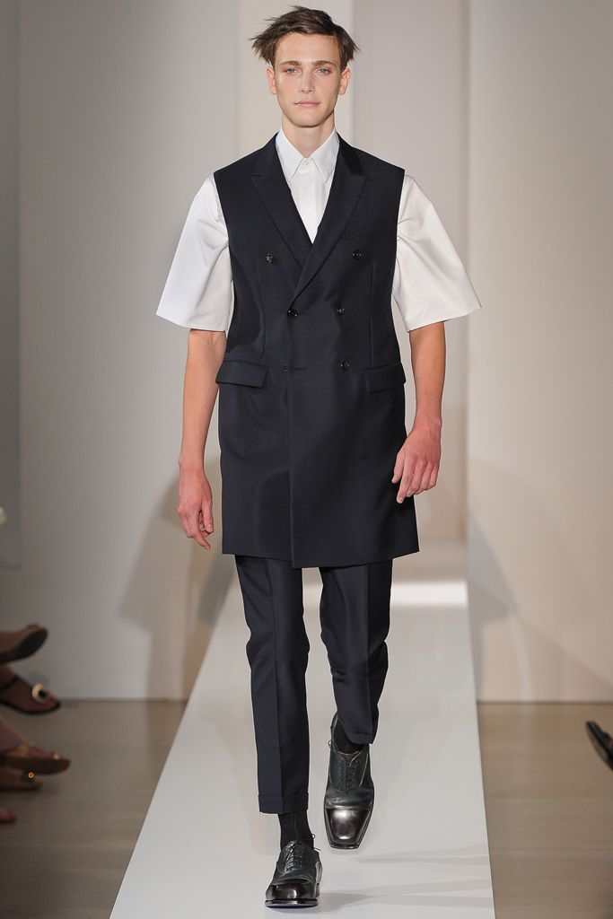 Jil Sander Spring 2013 Menswear Collection Slideshow on Style.com