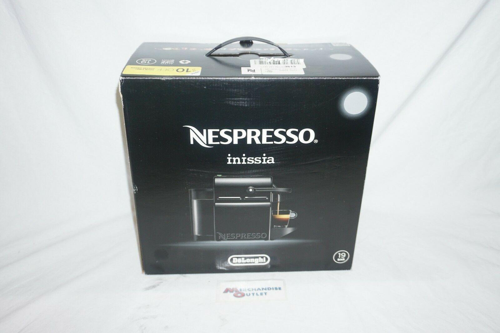 DeLonghi EN80S Nespresso Inissia Espresso Machine Silver