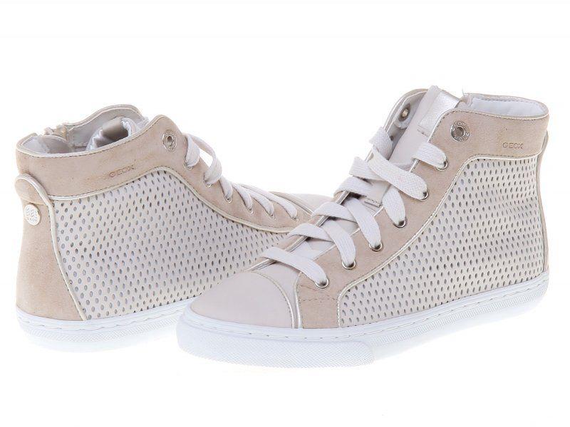 Geox D5258b 04321 36 Kremowy Geox High Top Sneakers Top Sneakers