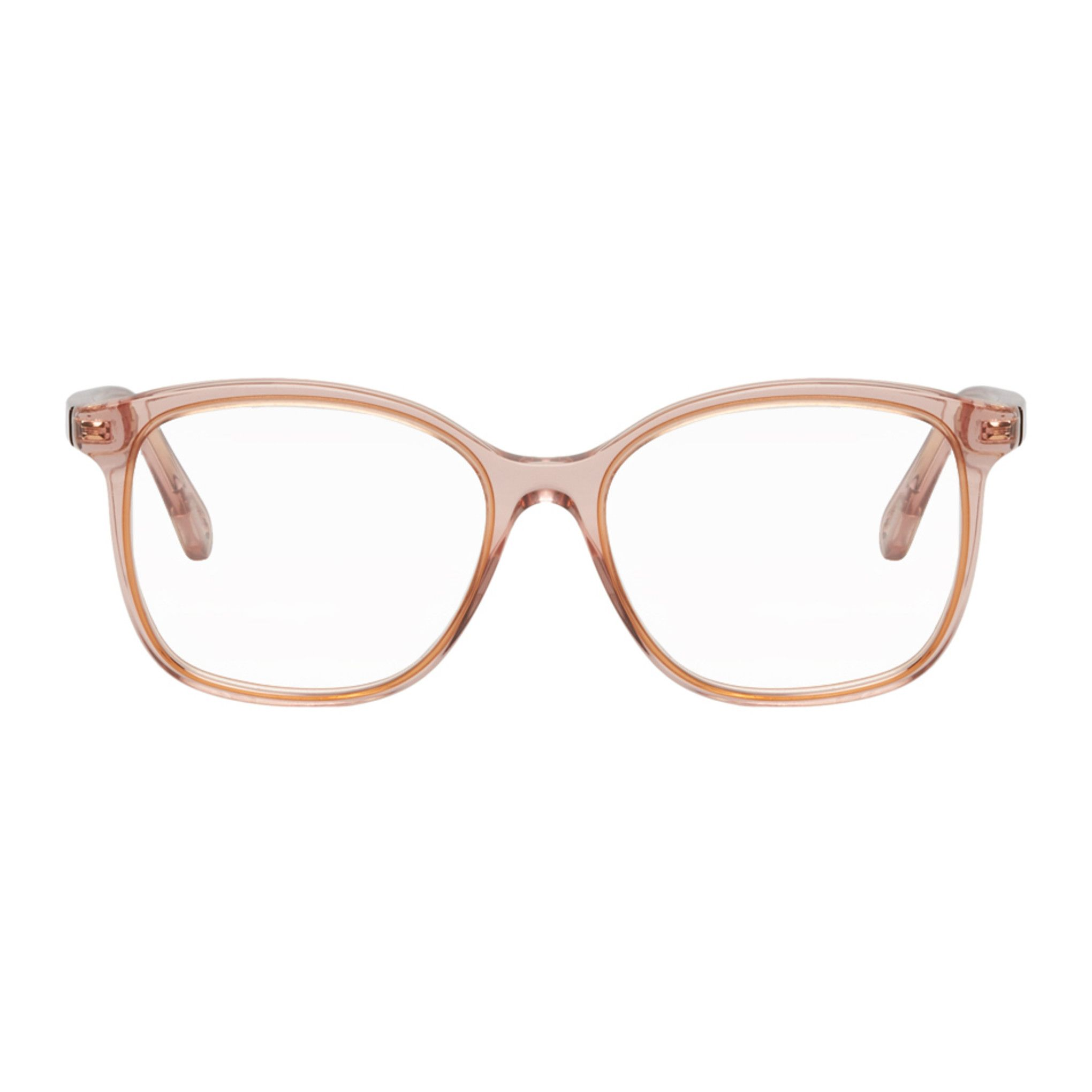 bffcd3b968e Chloé - Pink Transparent Acetate Glasses
