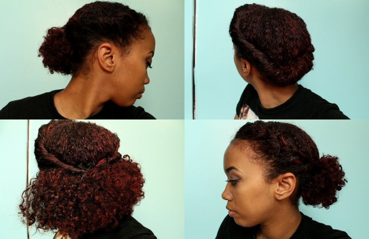 simple natural hairstyles curlyfrenzy on youtube hair