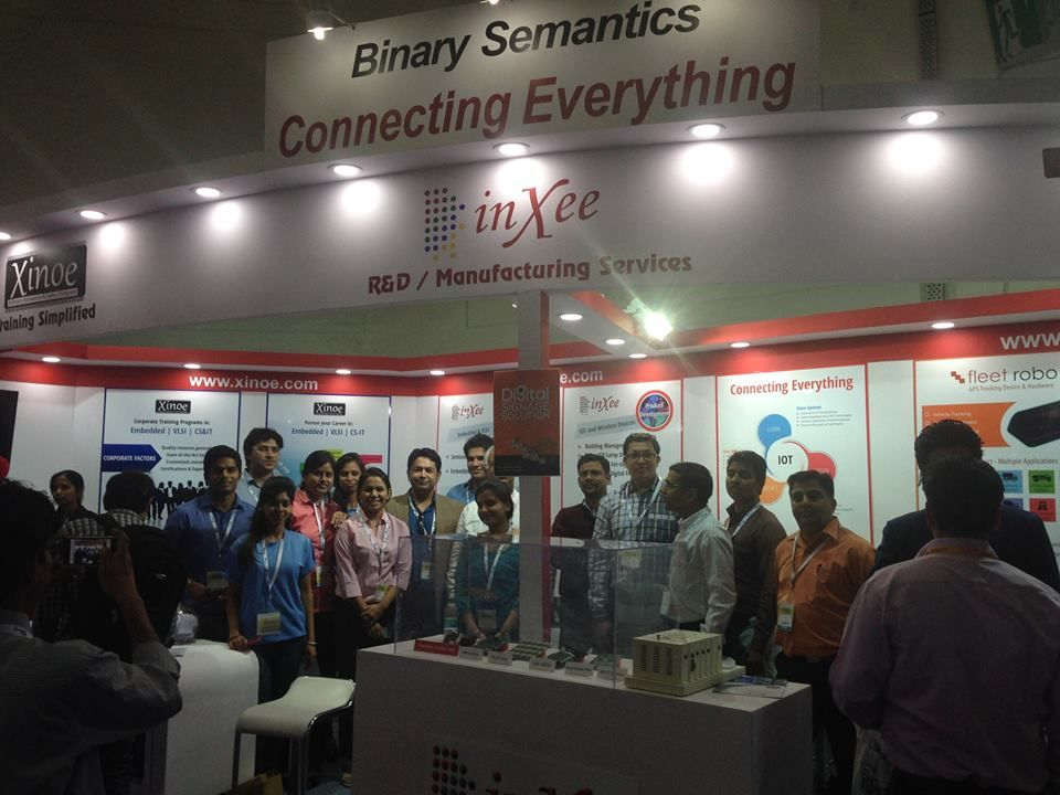 IOT-themed show @EFY 2015 by Xinoe systems