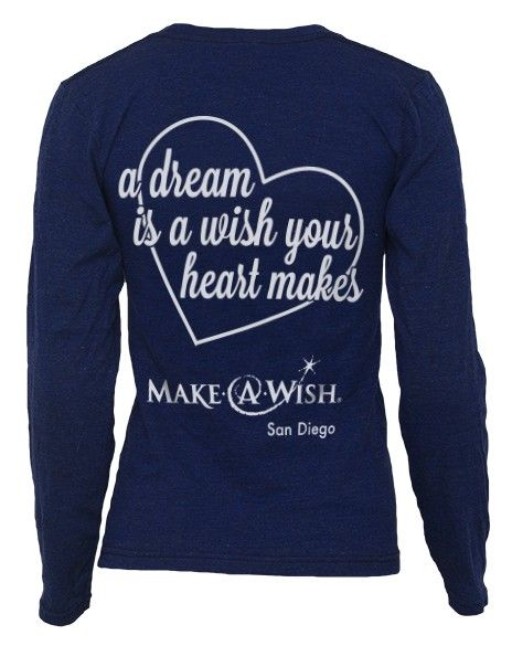 Chi Omega A Dream Is A Wish Long Sleeve - Adam Block ... A Dream Is A Wish Your Heart Makes Shirt