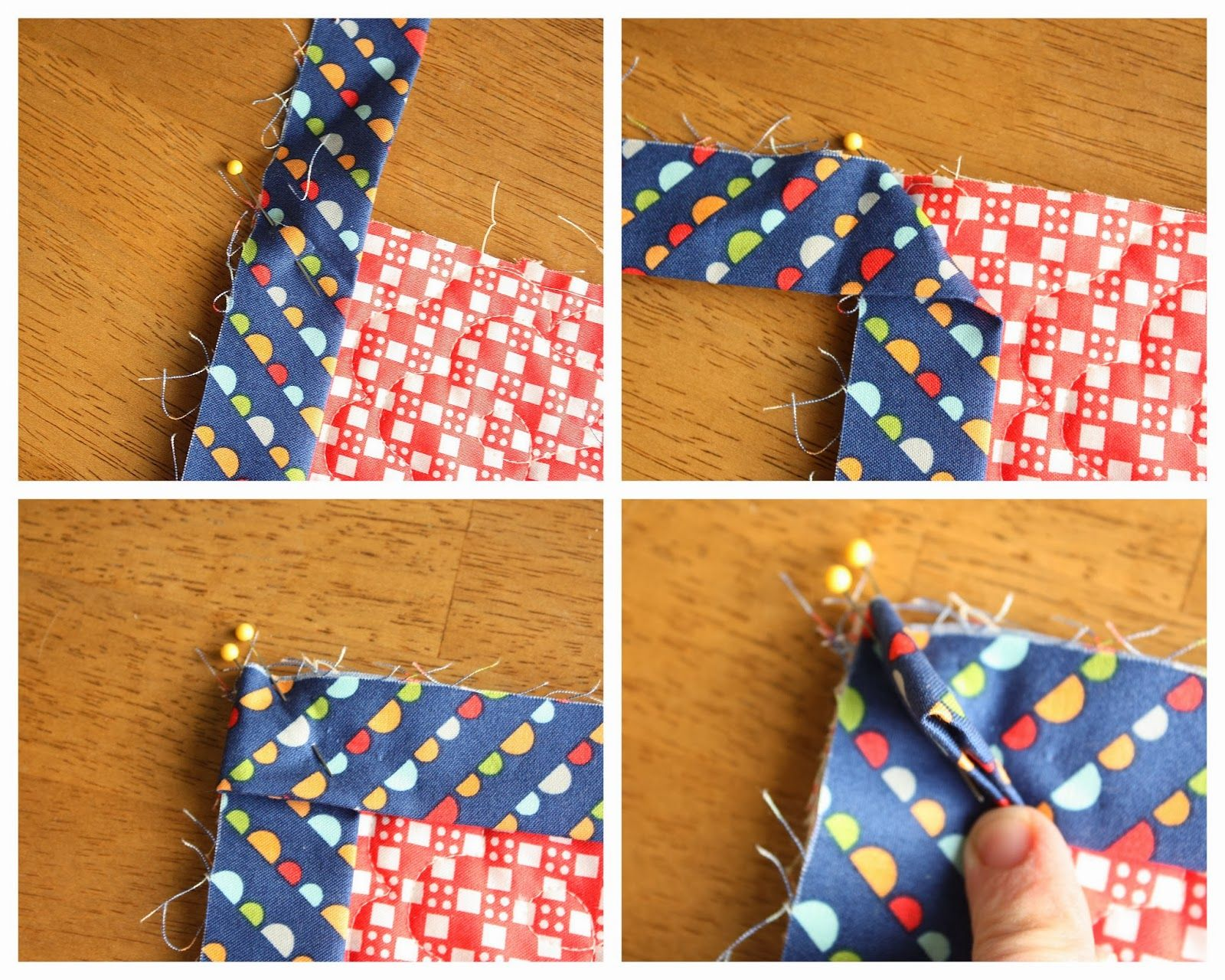 How to Finish and Bind a Quilt | DIY tutorial, Tutorials and Easy : binding a quilt for beginners - Adamdwight.com