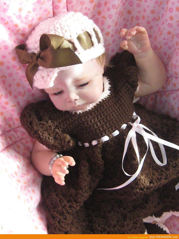 Free Baby Girl Crochet Dress Baby Dress Babies Frocks